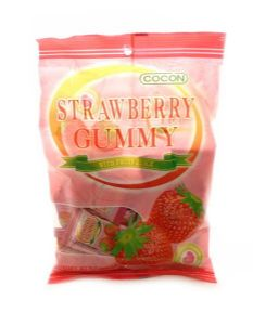 Strawberry Gummy [Jelly Sweets With Fruit Juice] by Cocon | Buy Online at the Asian Cookshop
